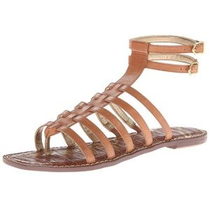 Sam Edelman Gilda Gladiator Braided Leather Shoe 7